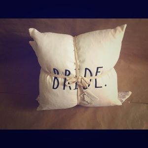 Rae Dunn Bride Groom Pillows
